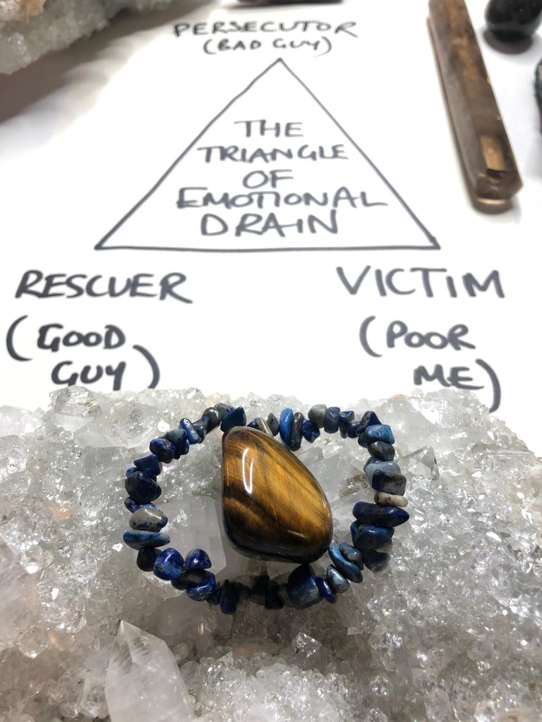 Break the Emotional Drain Triangle Set 🔼❤️🔮
