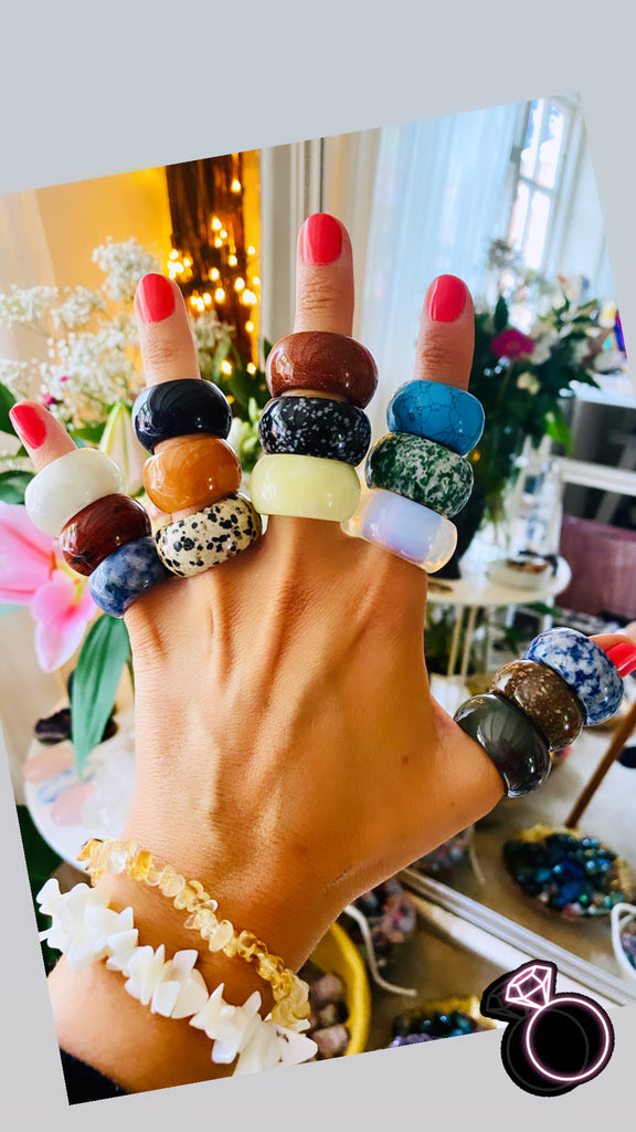The Most Gorgeous Crystal Rings ~ Just £11.11 🤩💜❤️🧡💛💚💙