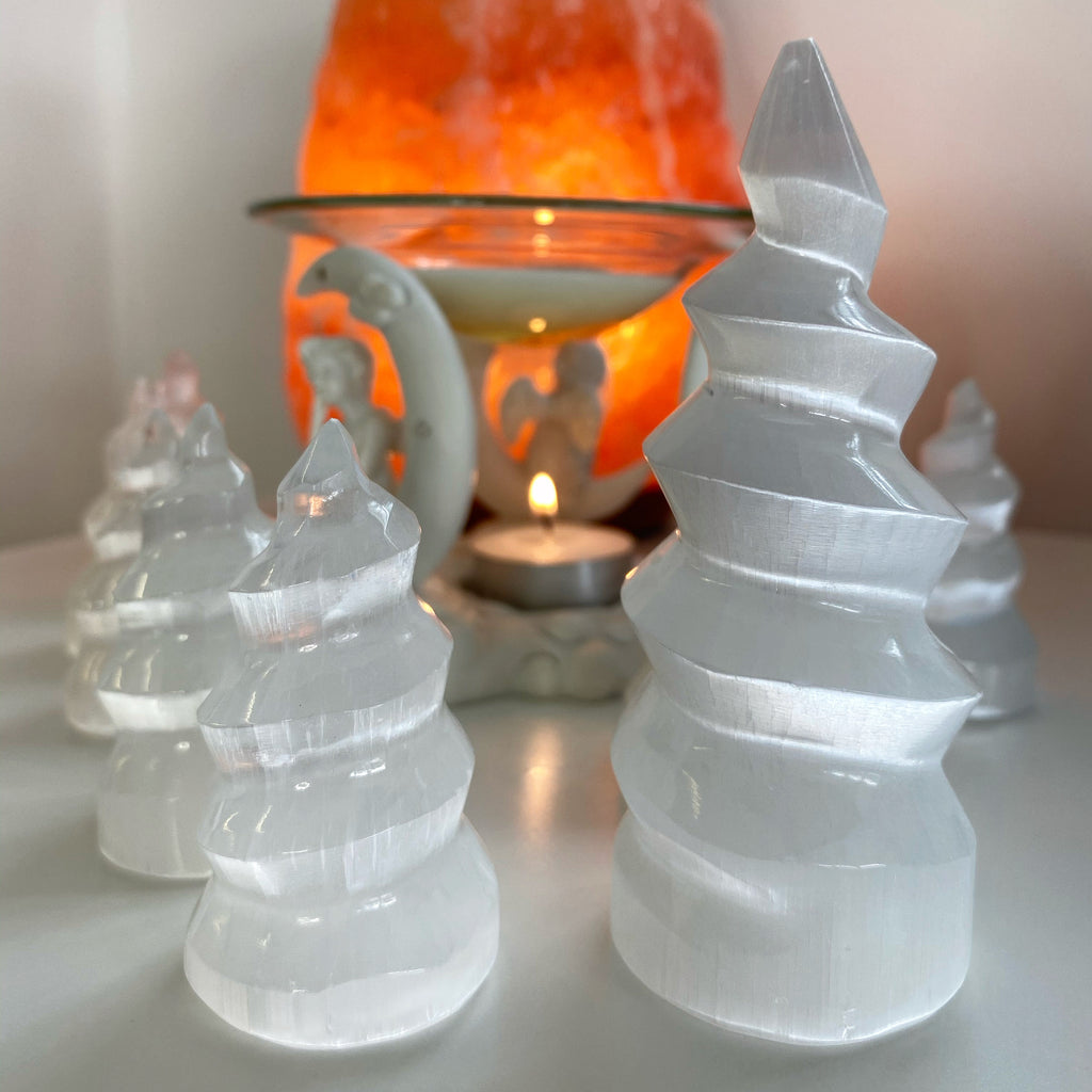 Selenite Unicorn Stands 🦄💎🔮