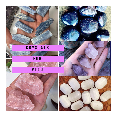 Crystals For PTSD 🙏🏼💕🙏🏼💎