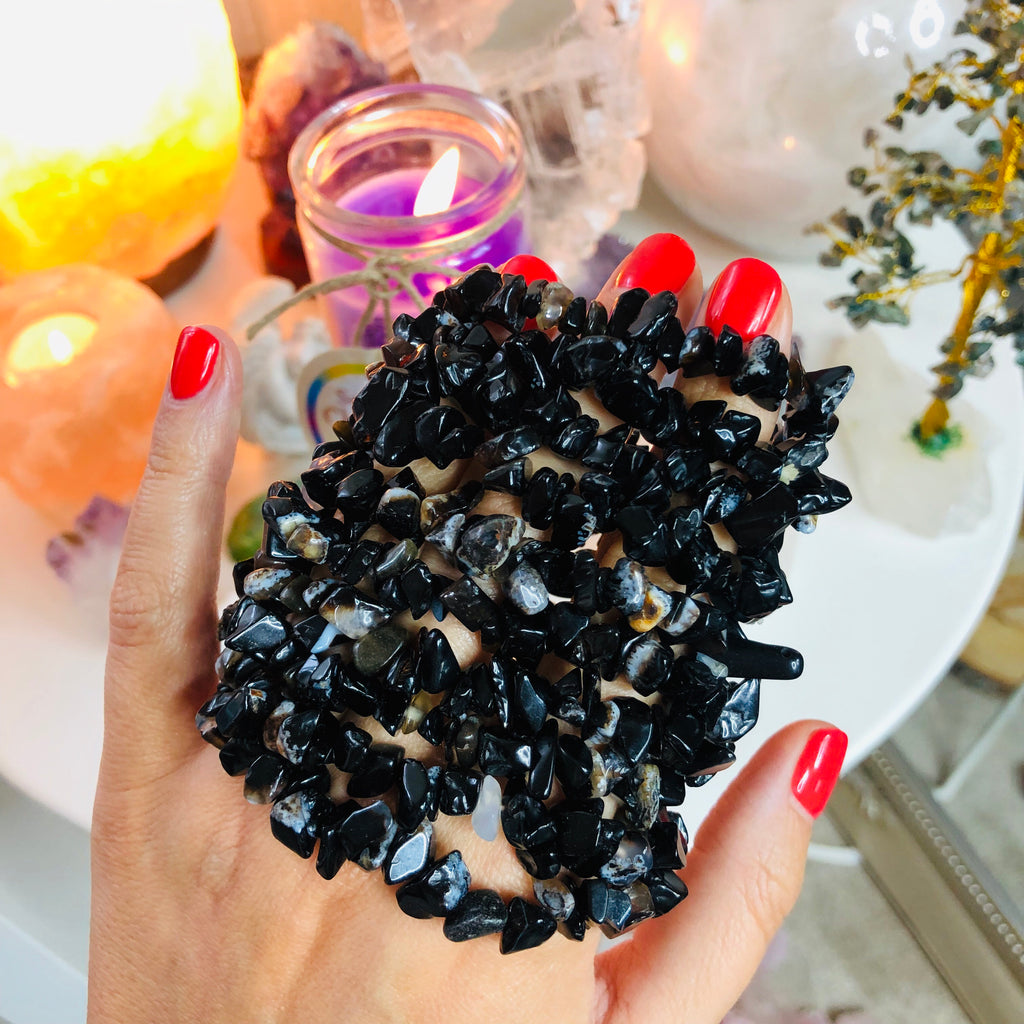 Black Onyx Natural Crystals 🖤🔮💎💪🏼