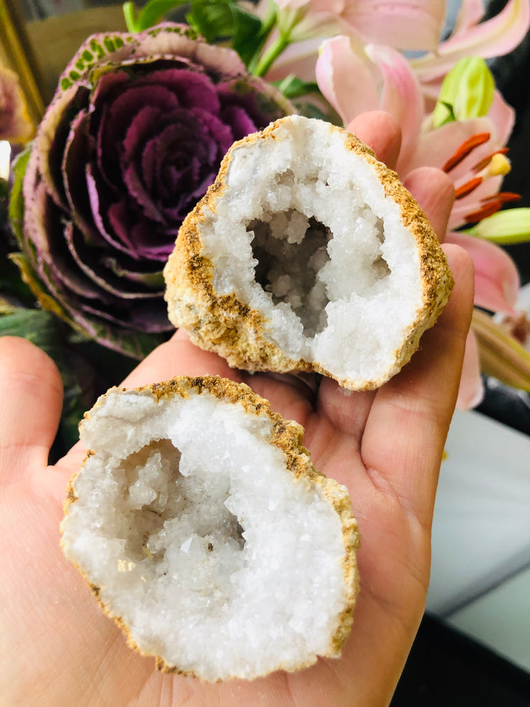 Calcite Natural Geode 💛💎🔮