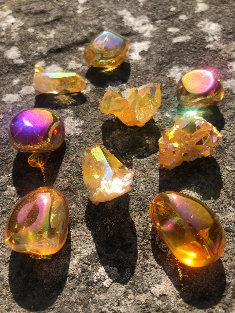 Sunset Aura Crystals 🌅☀️🌅☀️🌅☀️