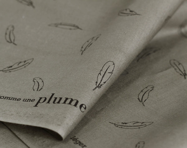 Léger Comme Plume Cotton Percale by Aime Comme Marie