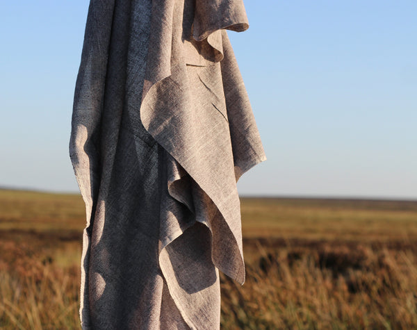 Grey Kotpad Handwoven Indian Cotton