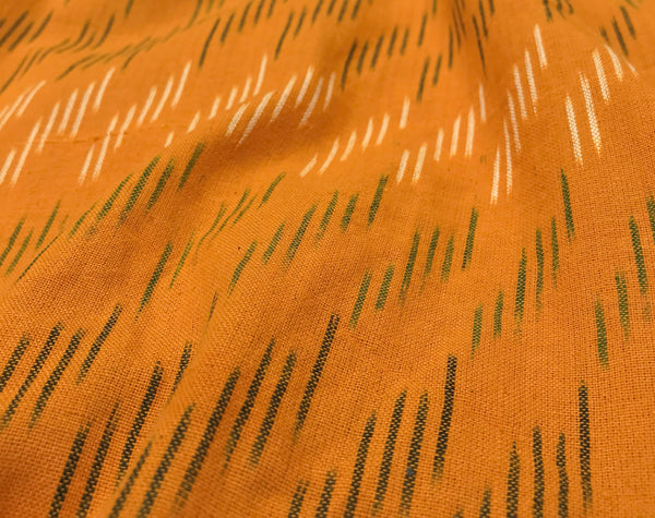Turmeric Handloom Indian Ikat