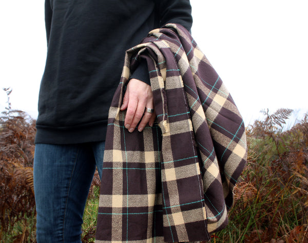 Mammoth Plaid Flannel Brown