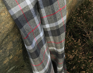 Mammoth Plaid Flannel Smoke