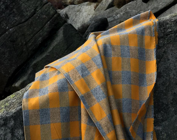 Mammoth Plaid Flannel Gold