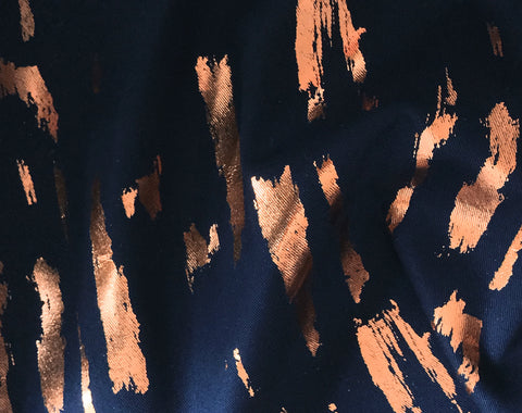 SPECIAL Hand Printed Loxia Copper by Lotte Martens
