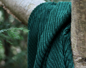 Wide Rib Corduroy Ponderosa Green by See You At Six