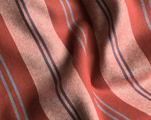 Taos Stripe Flannel Rust