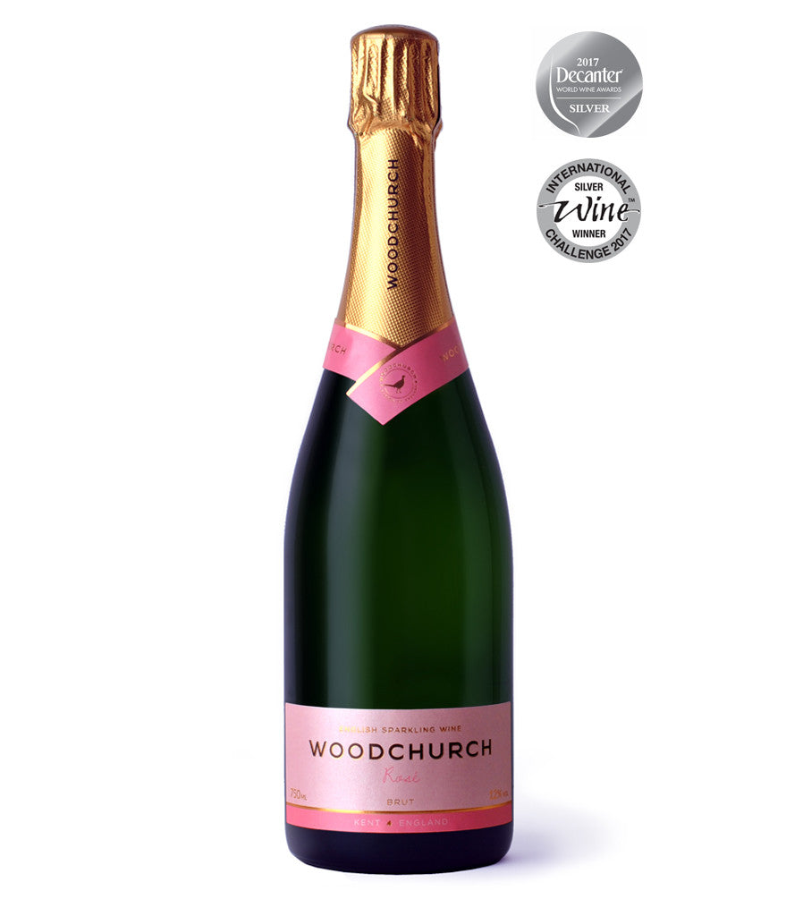 Woodchurch Rose Sparkling English Wine
