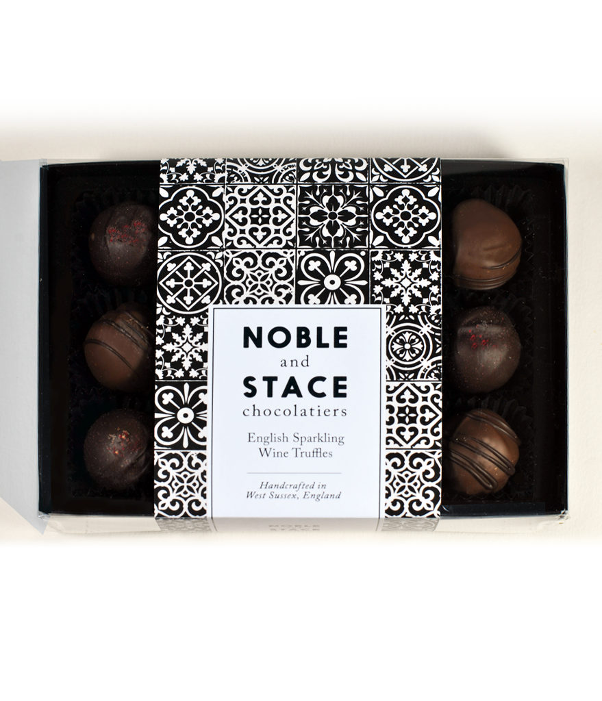 12 x English Sparkling Wine truffles