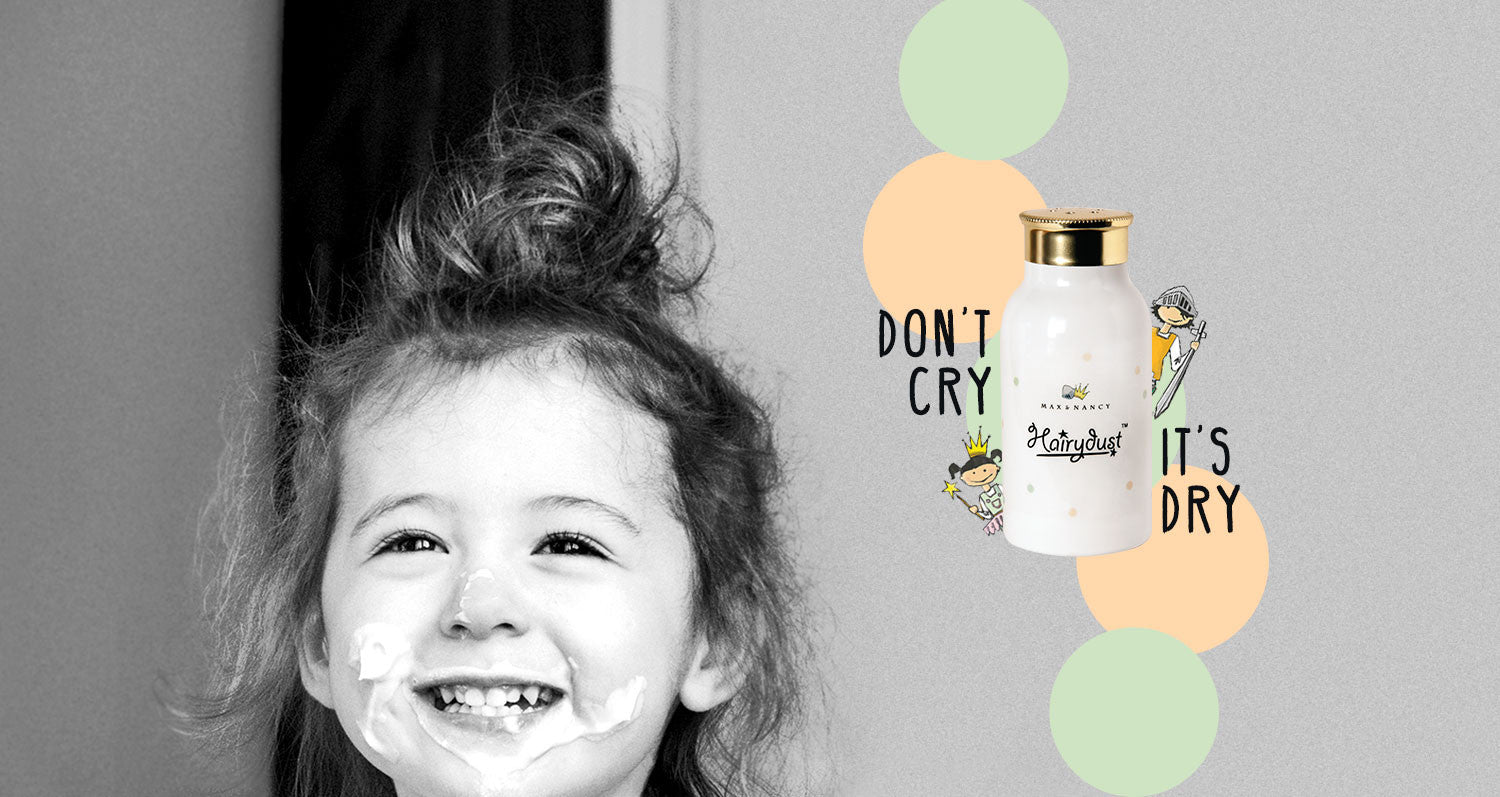 Dry shampoo for children