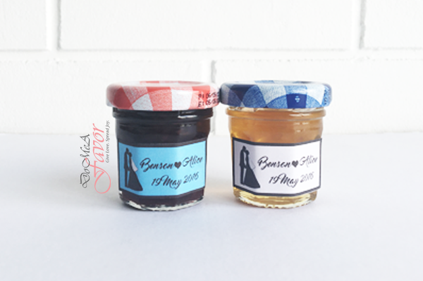 Classic Couple Bonne Maman Jam/Honey
