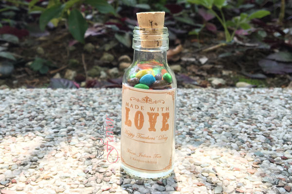 Made with Love Teachers' Day Potion Bottle