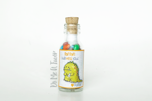 Sad Dino Farewell Bottle