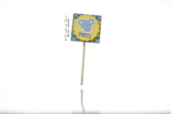 Ellie the Elephant Organic Lollipops