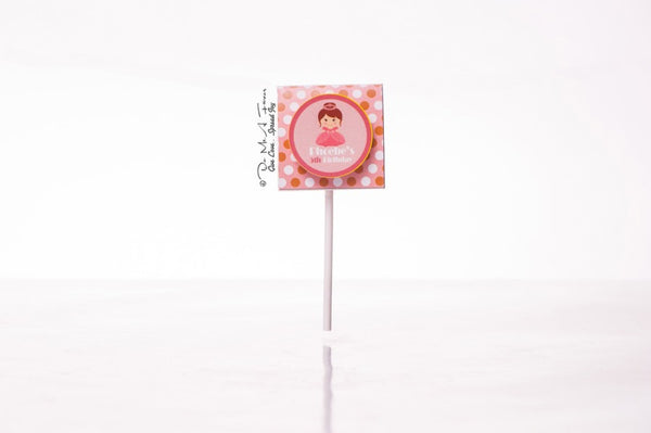 Enchanting Princess Organic Lollipops
