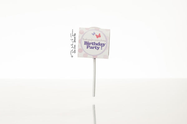 Fairy Princess Organic Lollipops