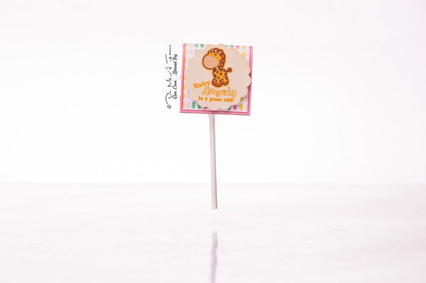 Oh Baby Girl Organic Lollipops