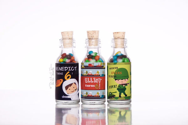 Boys' Favourites Potion Bottles