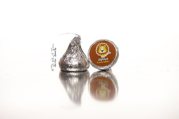 Ryan the Lion Hershey's Kisses