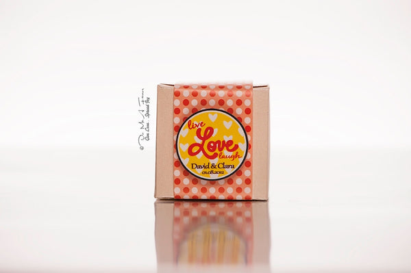 Wedding Gift Box Singapore : Live.Love.Laugh Favor Boxes - Do Me A Favor SG
