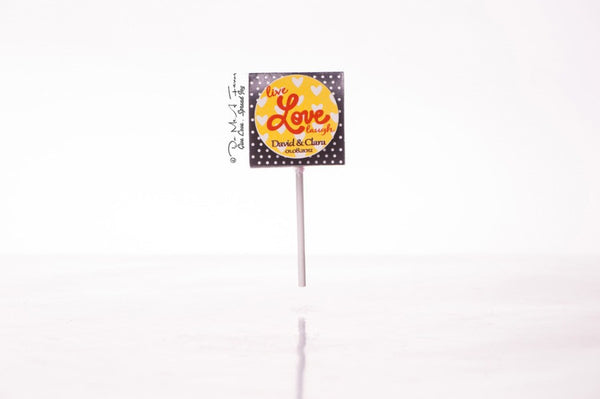 Live.Love.Laugh Organic Lollipops