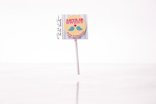 Lovebirds Organic Lollipops
