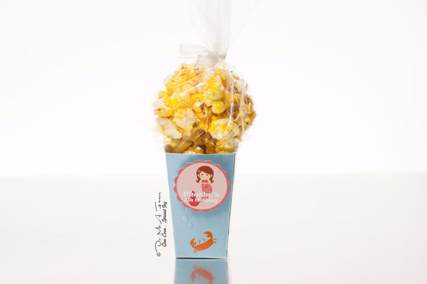 Little Mermaid Popcorn Box