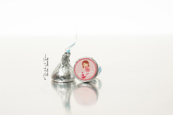 Little Mermaid Hershey's Kisses
