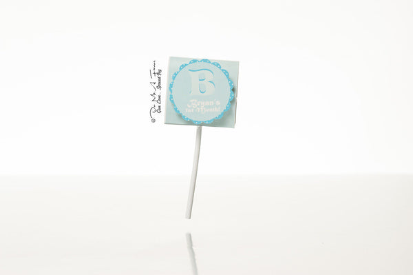 B is for Baby Organic Lollipops