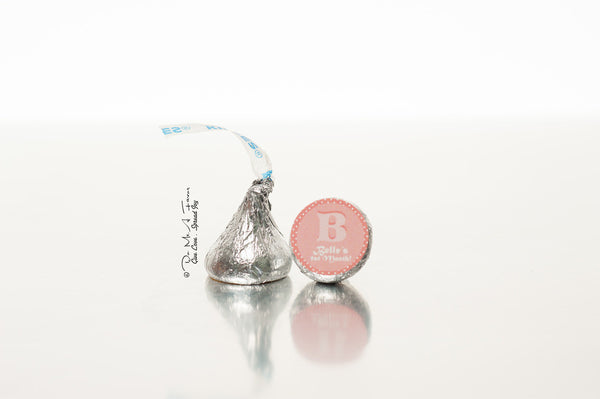 B is for Baby Hershey's Kisses