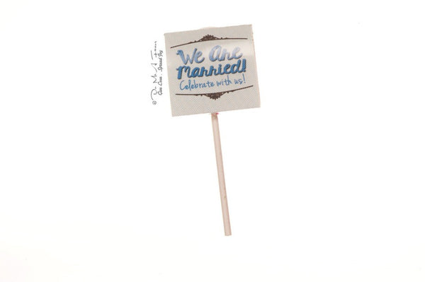 Mr & Mrs Charming Organic Lollipops