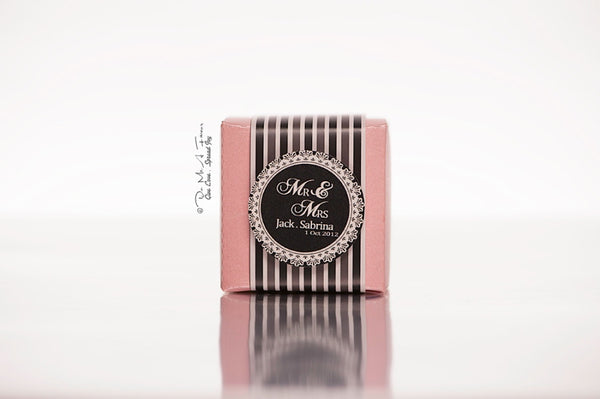 Mr & Mrs Favor Boxes