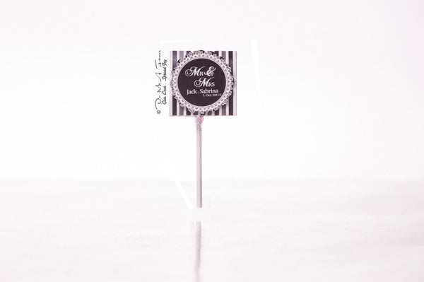 Mr & Mrs Organic Lollipops