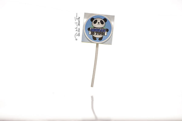 Poosh the Panda Organic Lollipops