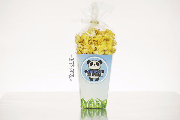 Poosh the Panda Popcorn Box