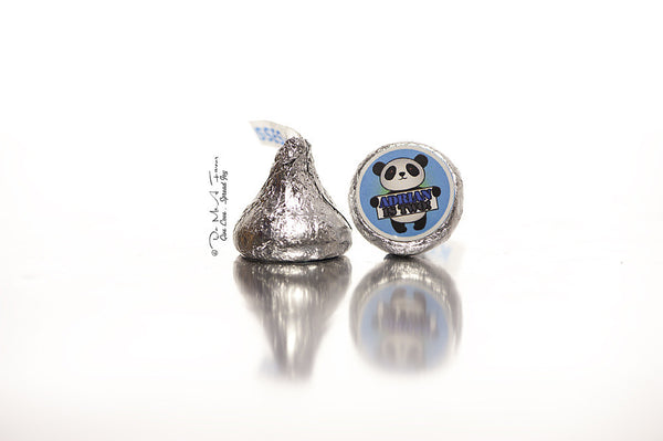 Poosh the Panda Hershey's Kisses