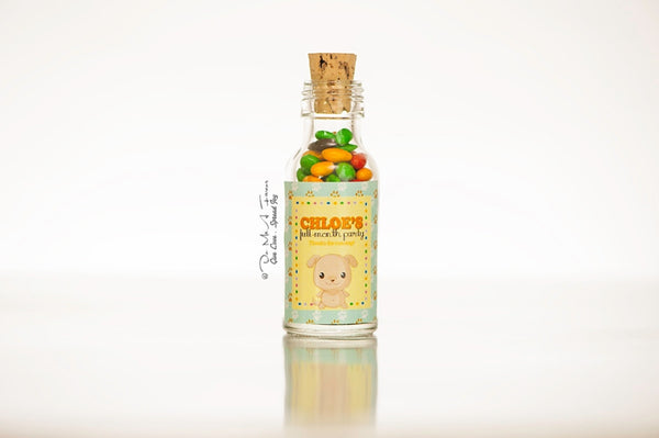 Cute Animal Friends Potion Bottles