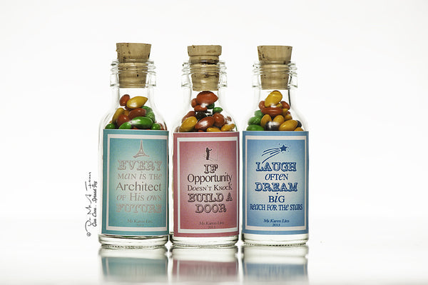 Inspiring Quotes Potion Bottles