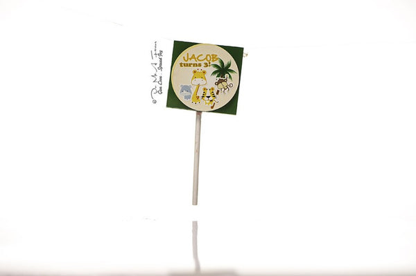 Safari Animal Friends Organic Lollipops
