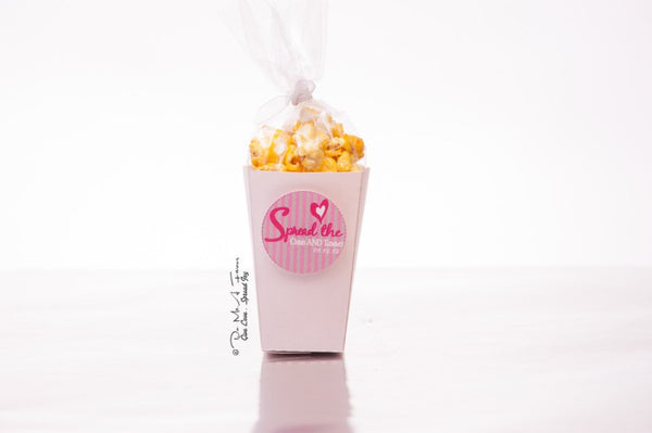 Spread The Love Popcorn Box