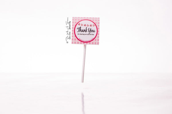 Spread The Love Organic Lollipops