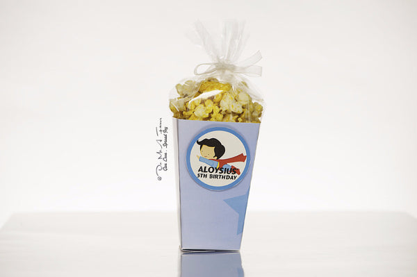 Little SuperBoy Popcorn Box