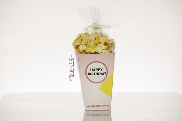 Little SuperGal Popcorn Box