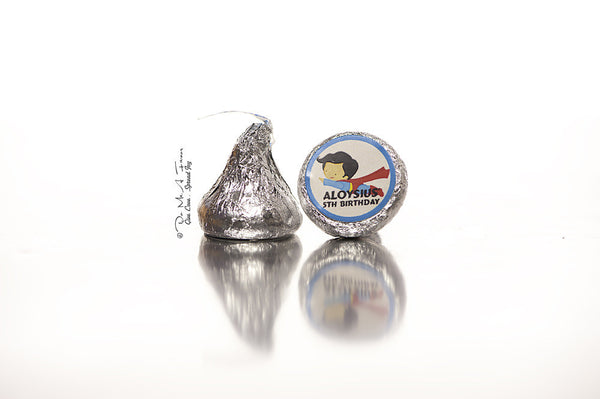 Little SuperBoy Hershey's Kisses