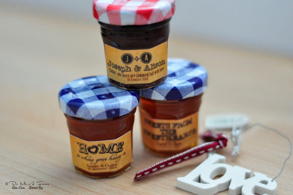 Vintage Love Notes Bonne Maman Jam/Honey